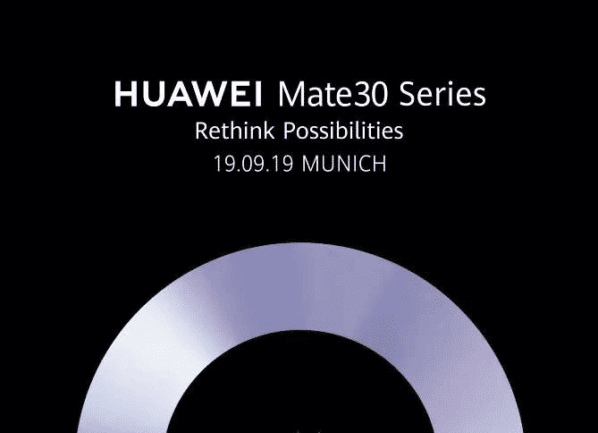 Huawei Mate 30 Series post