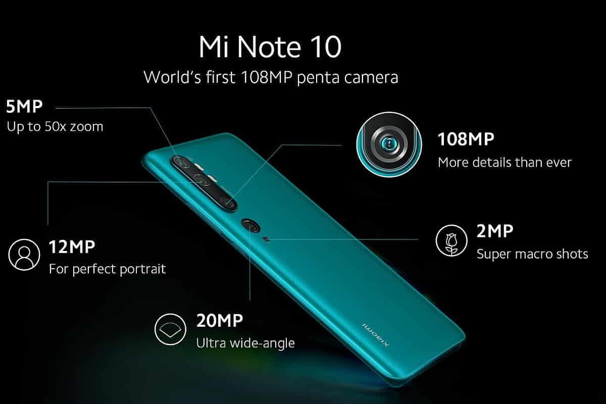 Xiaomi mi mote 10 (xiaomi cc9 pro)