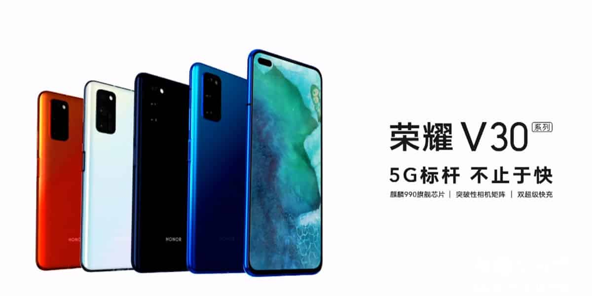 huawei V30 Series color