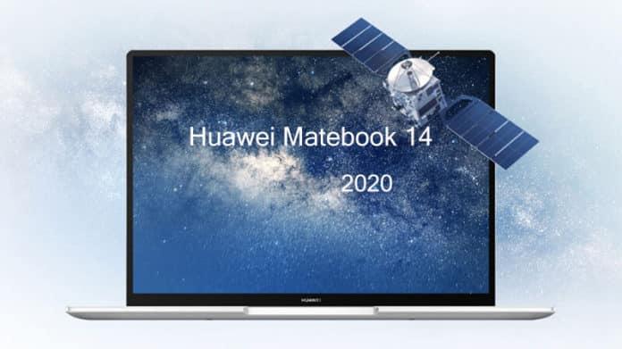 Huawei Matebook 14 2020 laptop