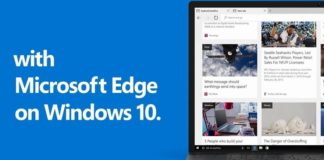 Microsoft edge on windows
