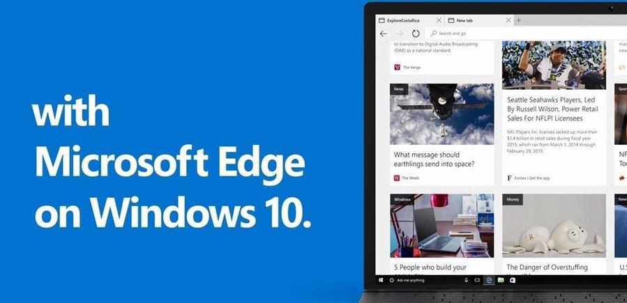 Microsoft edge on windows