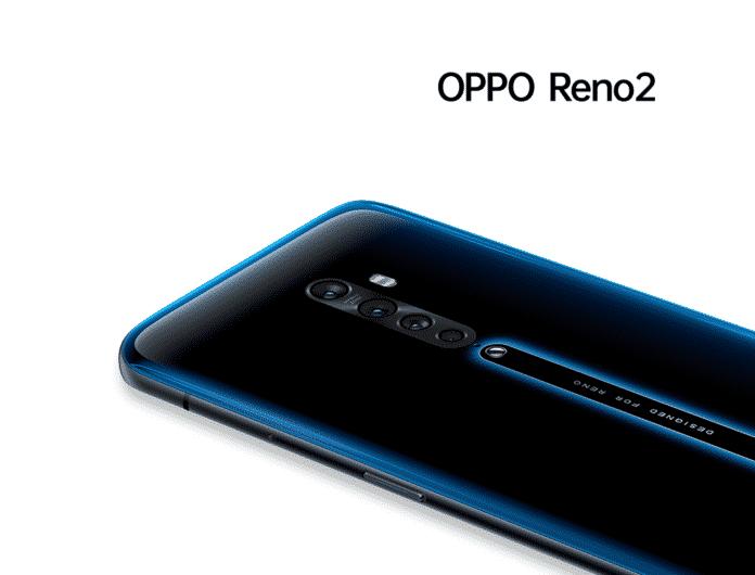 OPPO Reno 2 back