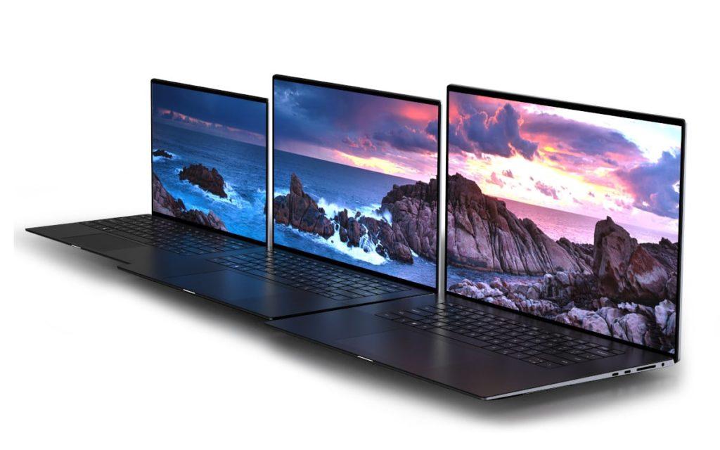 Dell laptops XPS 13 &XPS 15 & XPS17 Size