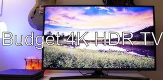 Best TV 4K HDR