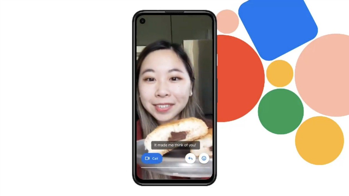 You will be able to read audio or video messages received in Google Duo // Source: Google