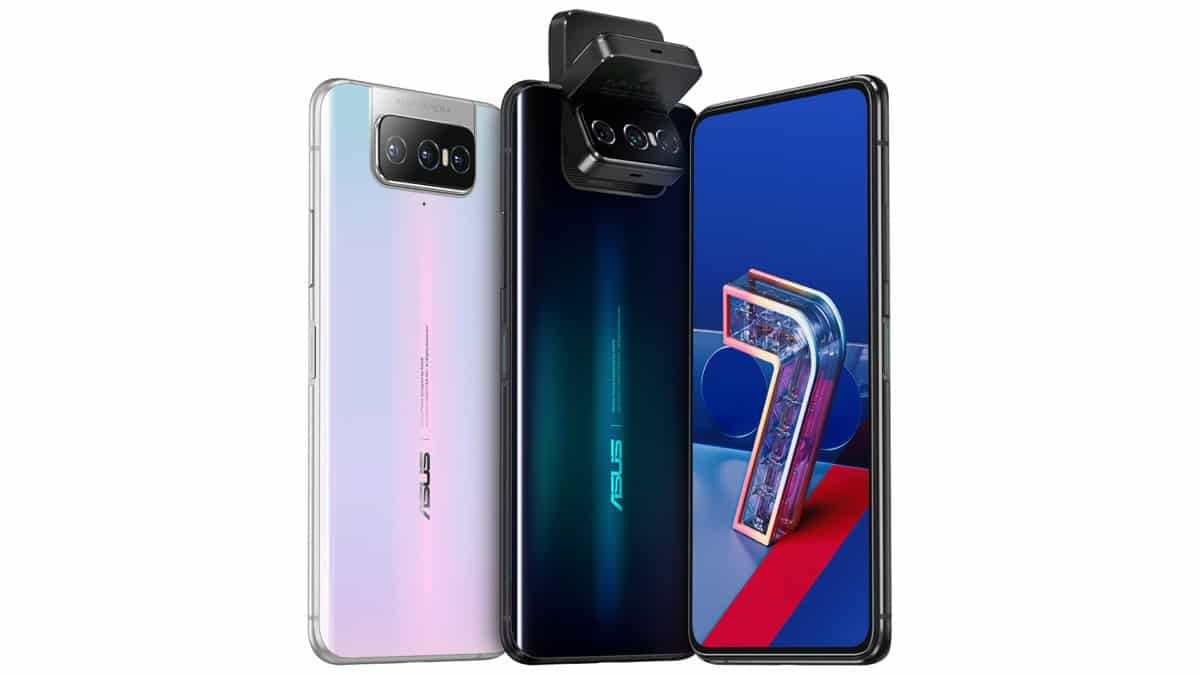 The Asus Zenfone 7 and Zenfone 7 Pro // Source: Asus