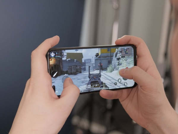 Call of Duty Mobile on the Realme X50