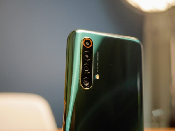 The Realme X50 photo module