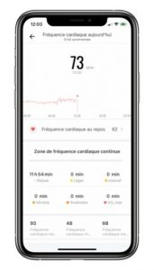 Daily heart rate monitoring