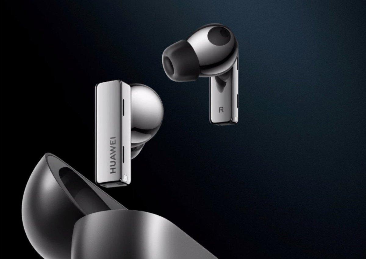 The Huawei FreeBuds Pro // Source : Huawei
