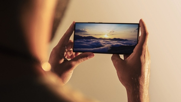 The screen of the Samsung Galaxy Note 20 Ultra