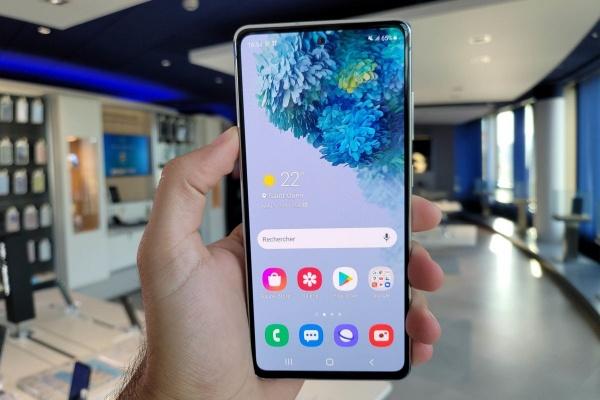 The Samsung Galaxy S20 FE