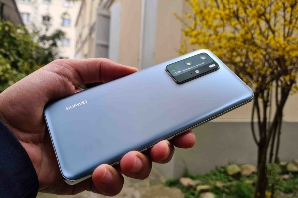 The Huawei P40 Pro, the brand's latest flagship
