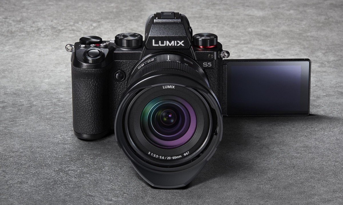 The Panasonic Lumix S5 // Source: Panasonic