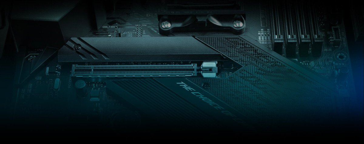 PCI Express is backwards compatible // Source: Asus