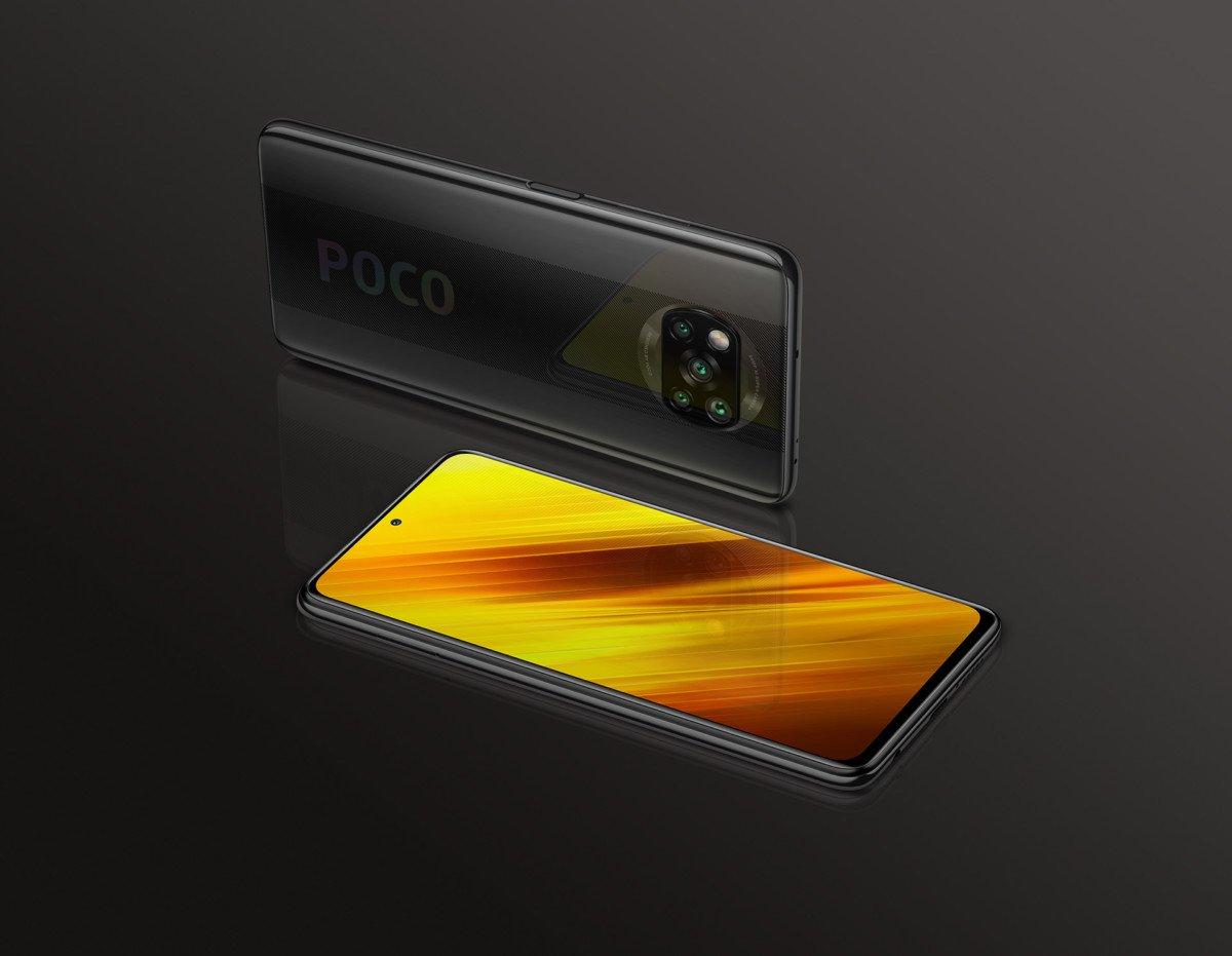 The Xiaomi Poco X3 in gray // Source: Xiaomi