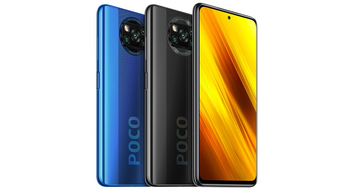 The two colors of the Xiaomi Poco X3 // Source: Xiaomi