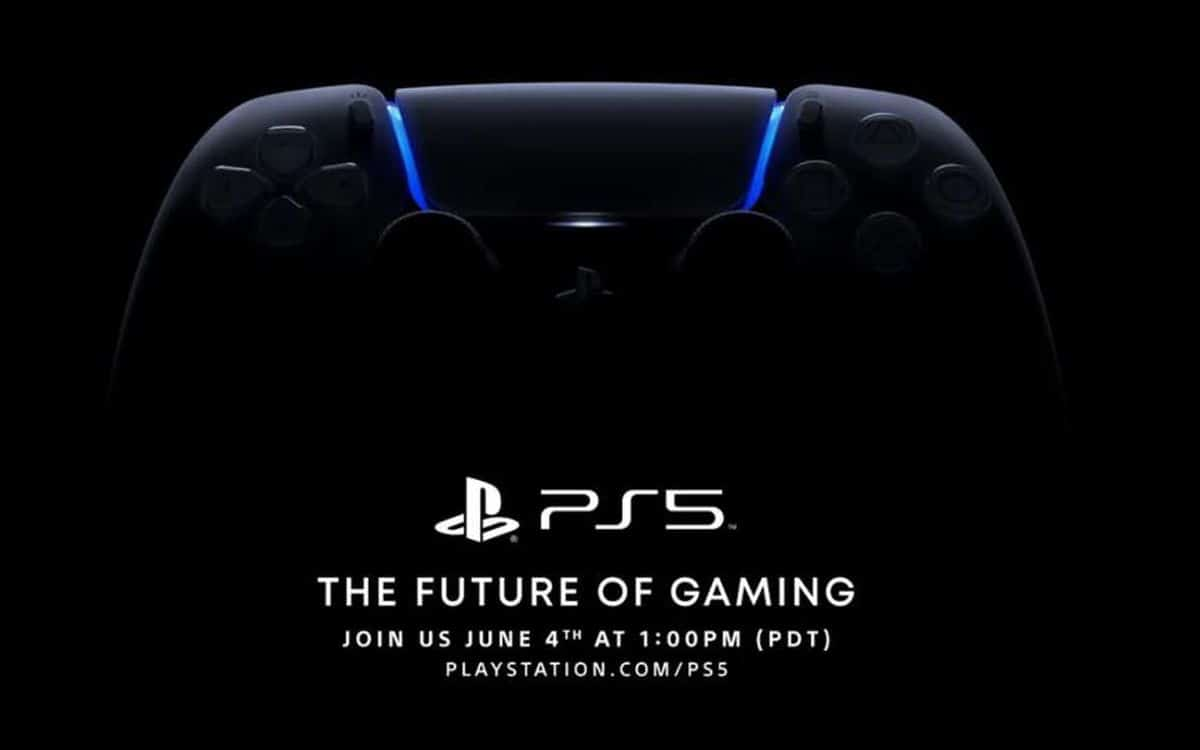 Black PS5 controller unveiled in June 4 conference invitation (postponed to June 11)