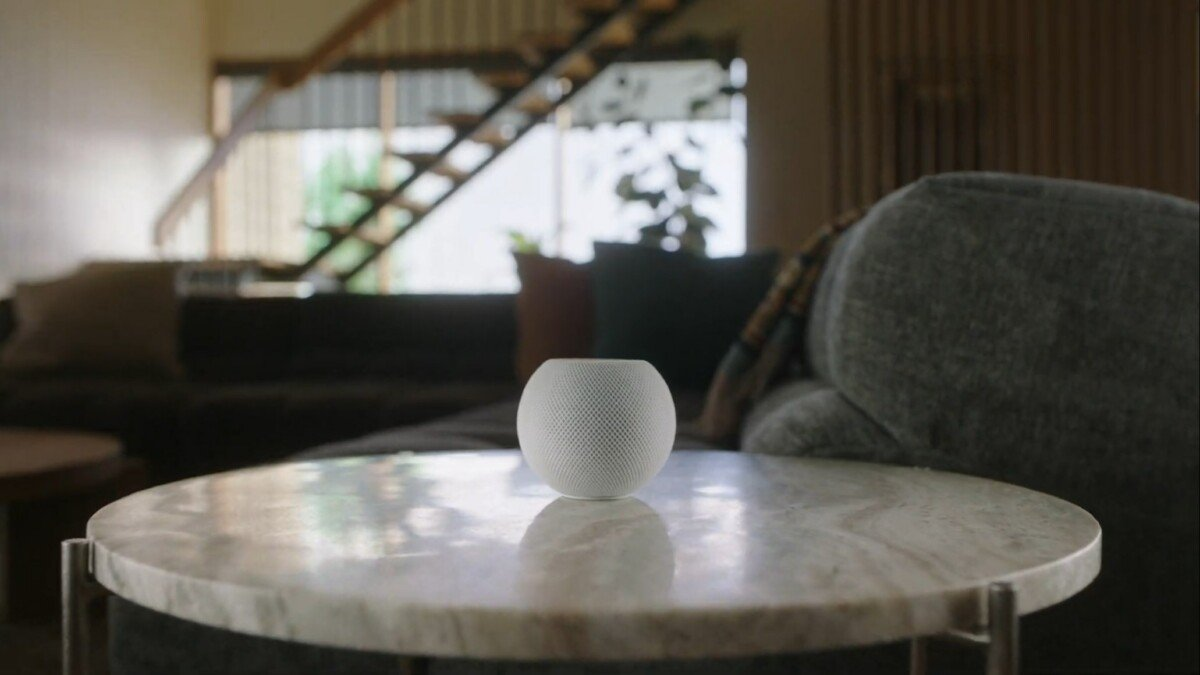 The new HomePod Mini // Source: Apple