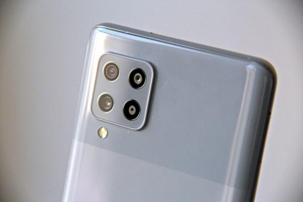 The Samsung Galaxy A42 5G photo module