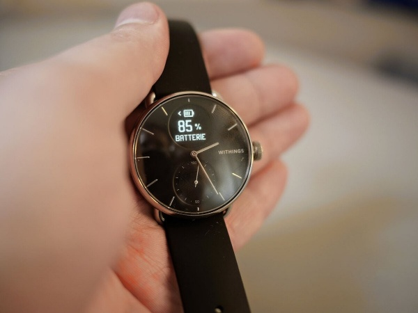The Withings ScanWatch offers a long battery life