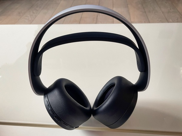 The Sony Pulse 3D headset for PS5