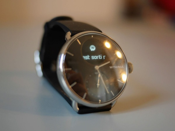The Withings ScanWatch allows you to display notifications
