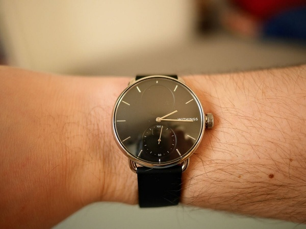 The Withings ScanWatch is a real watch with hands