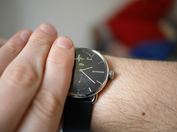 The ECG on the Withings ScanWatch