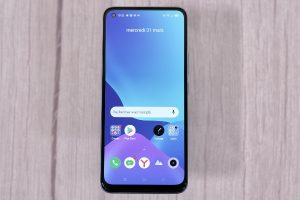 The front of the Realme 8 Pro