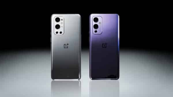 The OnePlus 9 alongside the OnePlus 9 Pro