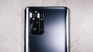 The quadruple photo module of the Xiaomi Redmi Note 10 Pro