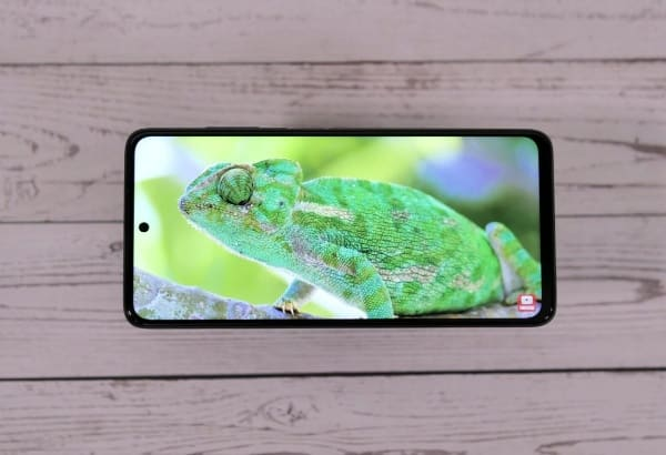 Between the screen of the Poco X3 and the Poco X3 Pro, nothing distinguishes them from each other
