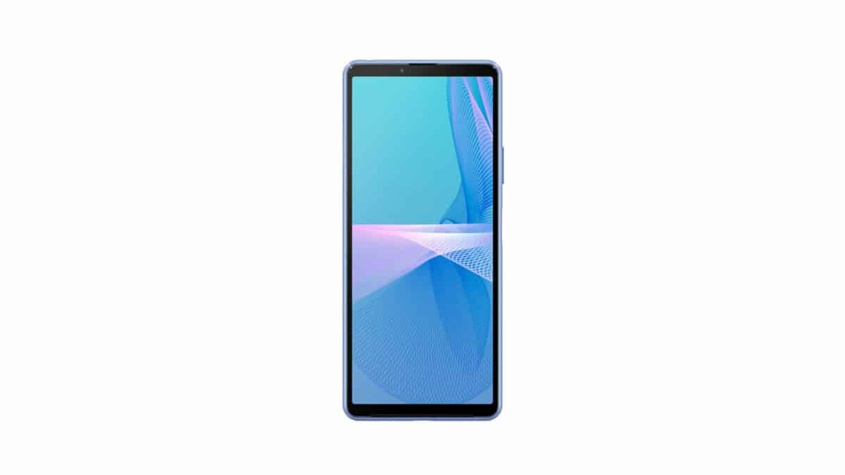 The screen without notch or punch of the Sony Xperia 10 III // Source: Sony